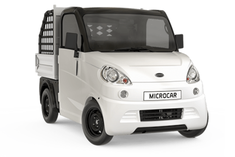 Pick-up sans permis Microcar